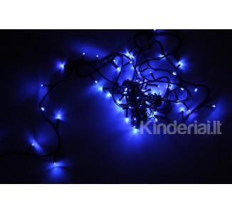 Lauko girlianda 100 lempučių, mėlyna