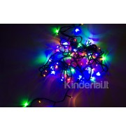 Kalėdinė girlianda 100 lempučių, įvairiaspalvė