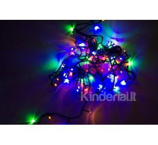 Kalėdinė girlianda 300 lempučių, įvairiaspalvė
